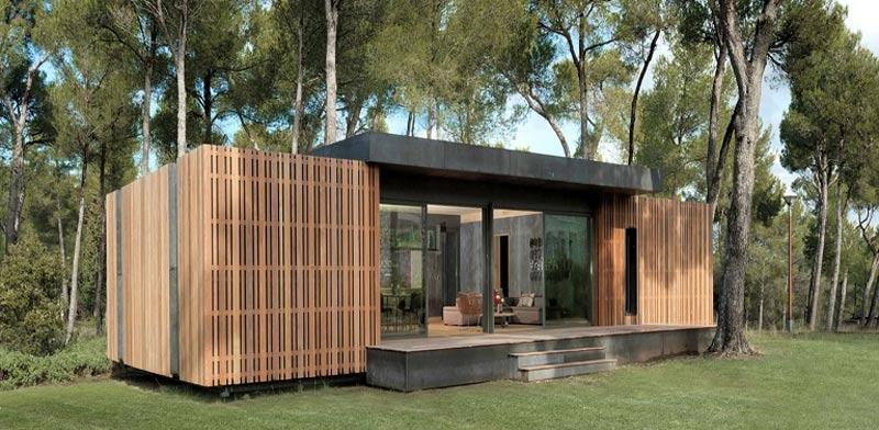 """בית לגו, בנייה מהירה, PopUp house Multipod Studio / צילום: יח""""צ"""