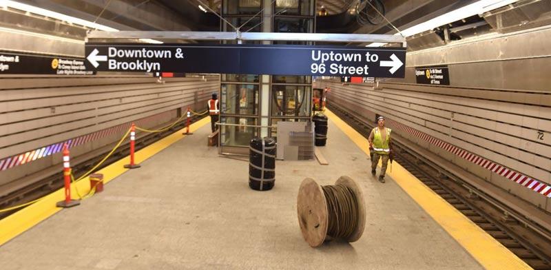 קו רכבת תחתית חדש בניו יורק, תשתיות, Second Avenue Subway / צילום: וידאו