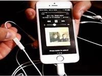 אייפון 7 עם חיבור אוזניות חדש/ צילום: מתוך הוידאו