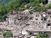 רעידת אדמה באיטליה אוגוסט 2016/ צילום: מתוך הוידאו