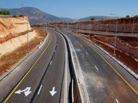 מקטע כביש דו נתיבי דו מסלולי חדש במחלף קדרים החדש כביש 65 / צילום: חברת נתיבי ישראל