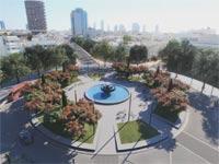 כיכר דיזינגוף החדשה/ צילום: הדמיה