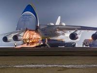 מטוס התובלה הגדול ביותר בעולם, מתוצרת רוסיה, antonov An-225 , צבא סין/ צילום: וידאו