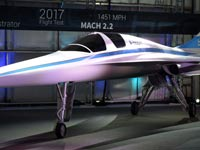מטוס נוסעים על קולי, Boom Technology,  סטארט אפ, ריצ'ארד ברנסון, וירג'ין גלקטיק/ צילום: וידאו