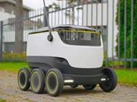 שירותי רובוט עד הבית וושינגטון, זקנה, רובוטיקה סטארט אפ Starship Technologies / צילום: וידאו