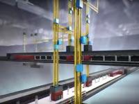 מעליות אנכיות לרכבת התחתית של לונדון, תחבורה MULTI  / צילום: Thyssenkrupp