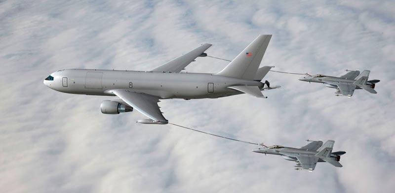 מטוס תדלוק KC46 / צילום: מהוידאו