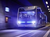 """אוטובוס אוטונומי, רכב ללא נהג, מרצדס בנץ' / צילום: יח""""צ"""