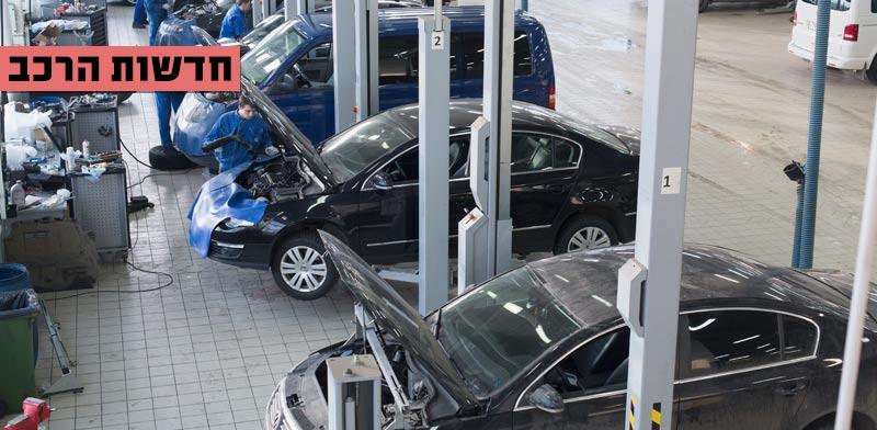 חדשות הרכב, מוסך פולסוואגן / צילום: שאטרסטוק