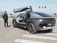 מכונית חשמלית סינית/ צילום: מהוידאו