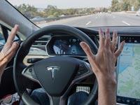 טסלה, מכונית ללא נהג, TESLA autopilot / צילום: וידאו
