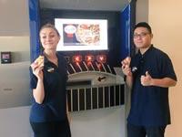"""כספומט פיצות, מזון מהיר, ארה""""ב Pizza ATM / צילום: וידאו"""