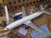 מסעדה בתוך מטוס בואינג סין / צילום: וידאו