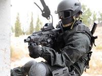 אקדח שמוסב לרובה, מיקרו רוני, פיתוח ישראלי CAA  / צילום: וידאו
