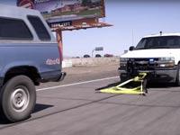 פטנט ללכידת מכוניות במרדף /צילום: מהוידאו