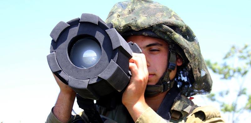 טיל נגד טנקים רפאל/ צילום: חברת רפאל