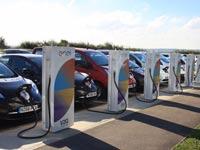 תחנות הטענה חשמליות דו כיווניות, ניסן, מכונית חשמלית / צילום: וידאו
