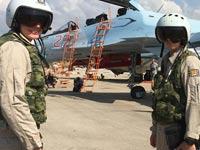 צבא רוסיה בסוריה, מטוסי קרב, מלחמה / צילום: וידאו
