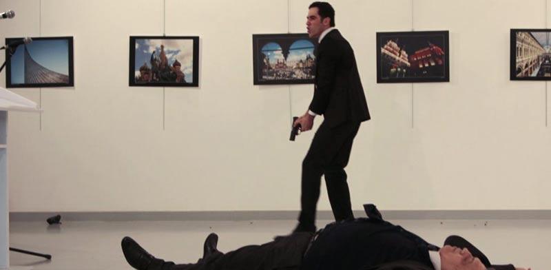 רצח שגריר רוסיה וטורקיה/ צילום: מהוידאו