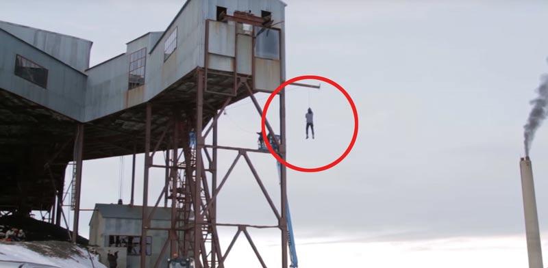 פיזיקה, חוק פיזיקלי, נורבגיה, ויראלי, פעלולים, סכנת חיים, גובה / צילום: וידאו