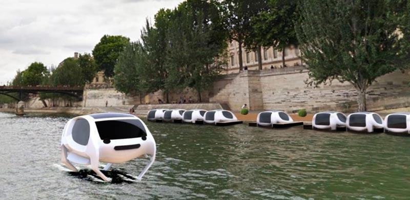 מונית ימית פריז/ צילום: מהוידאו