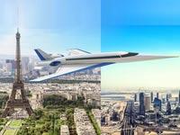 מטוס נוסעים על קולי שקט Spike / צילום: Spike Aerospace)