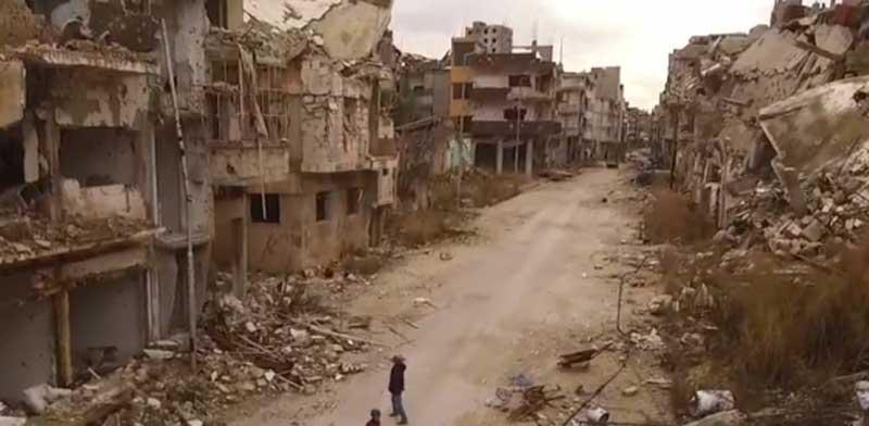 מלחמה בסוריה, הפצצות, חומס, פליטים / צילום: Russia works