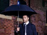 """מטריה חכמה, מטריה שחוזה מתי ירד גשם TARAbrella / צילום: יח""""צ"""