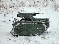 """רכב משוריין קומפקטי ואוטונומי, צבא, נשק ,חברת Milrem/ צילום: יח""""צ"""