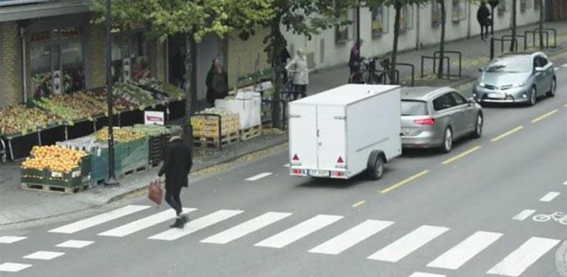 עגלה נגררת, פולקסווגן, פרסומת, ויראלי / צילום: וידאו