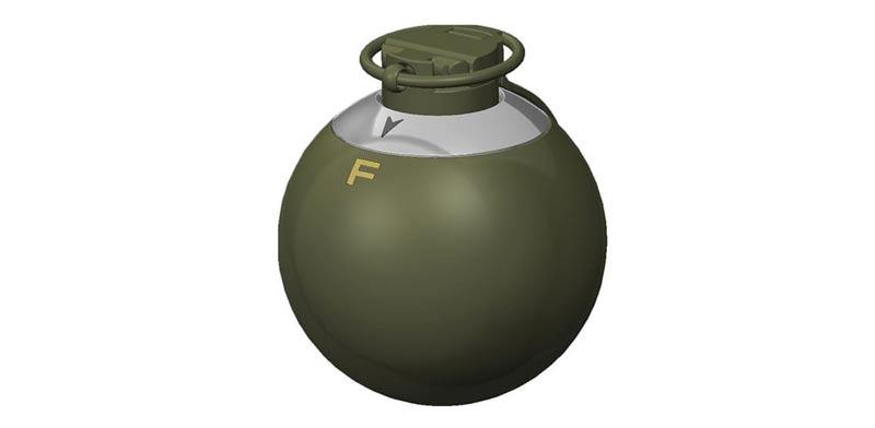 """רימון יד רב תכליתי, צבא ארה""""ב, ET-MP / צילום: צבא ארה""""ב"""