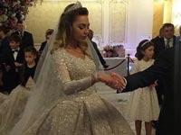 כלה חתונת מיליארדר / צילום: רויטרס