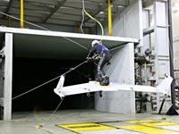 סקי בשמיים, Wingboard, ספורט אקסטרים / צילום: וידאו