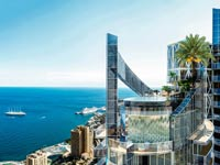 פטנהאוז במונקו ב-335 מיליון דולר, הדירה היקרה ביותר בעולם Tour Odeon / צילום: וידאו