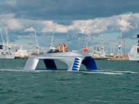 """יאכטה סקי מים Gilder Yachts לונדון Glider SS18 / צילום: יח""""צ"""