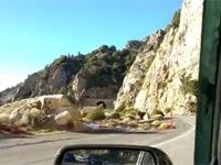 רכב, נפילה מצוק / צילום: מתוך הוידאו