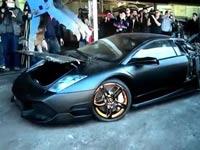 מכונית ספורט, למבורגיני  LP-640, גריטה, ממשלת טאיוואן/ צילום: וידאו