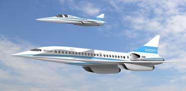 """מטוס על-קולי בום, צילום: יח""""צ"""