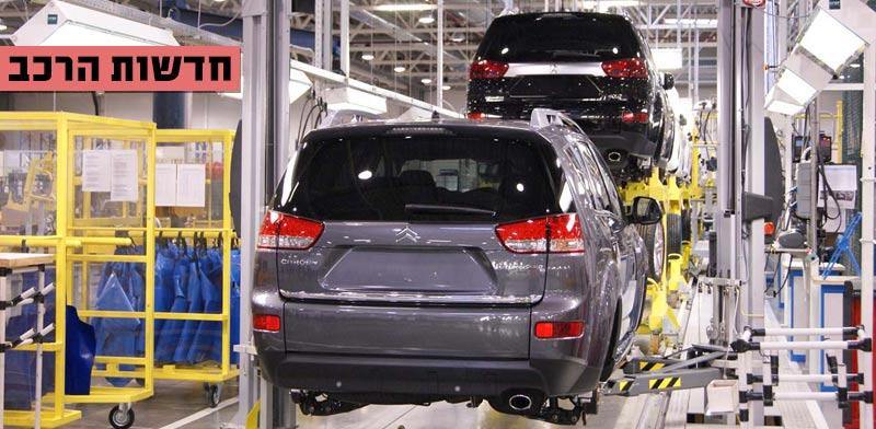 חדשות הרכב, מוסך סיטרואן פגו / צילום: מתוך הוידאו