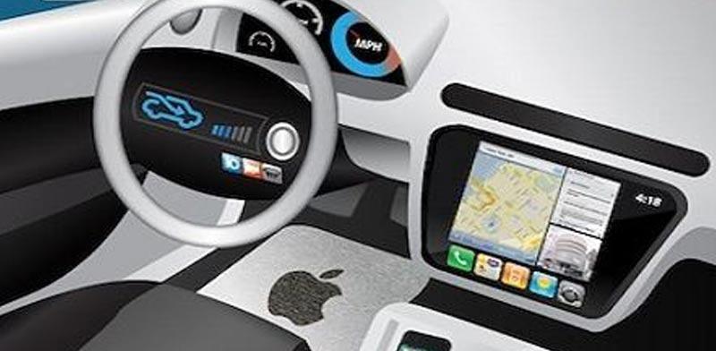 מכונית אוטונומית של אפל/ הדמיה: אפל