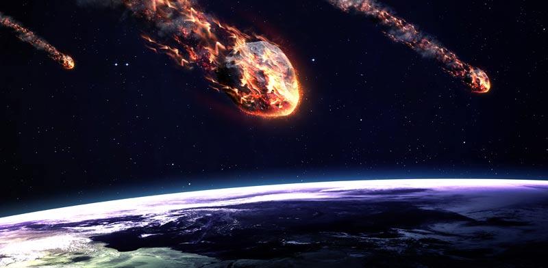 אסטרואיד פוגע בכדור הארץ/ צילום: שאטרסטוק