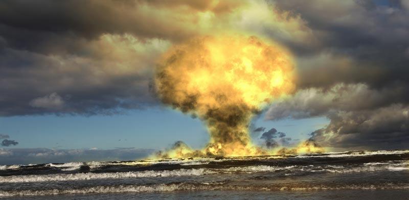 שם: ניסוי גרעיני קאזחסטן / צילום: מתוך הוידאו