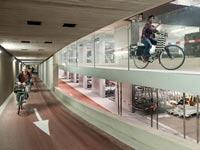 חניון האופניים הגדול בעולם בהולנד / צילום: מהוידאו