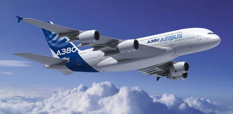 """איירבאס a380 / צילום: יח""""צ איירבאס"""