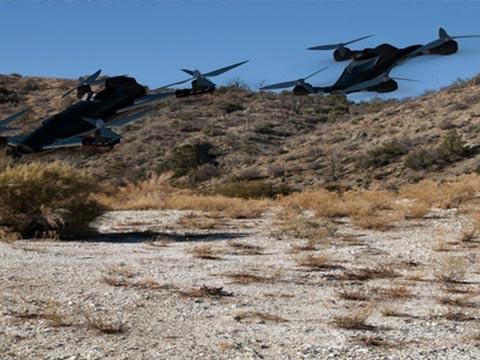 מכוניות מעופפות/ צילום: מתוך הוידאו