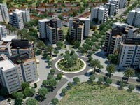 """שיכון ובינוי פרויקט חלומות פארק חדרה, בנייה, דירות, בתים, מגדלים / צילום: יח""""צ"""