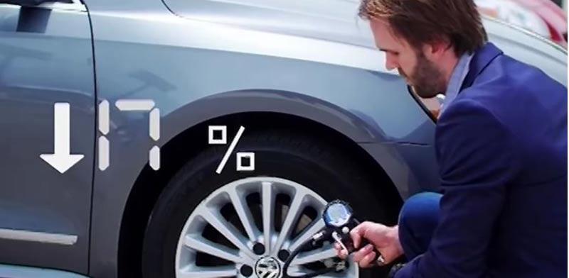 גלגלים, מד לחץ אויר/ צילום: מתוך הוידאו