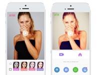 שם: אפליקציית מייטו לשינוי תמונת סלפי/ צילום: מצוך האתר מייטו