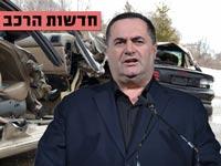 חדשות הרכב, ישראל כץ, תאונת דרכים/ צילום: תמר מצפי, מתוך הוידאו