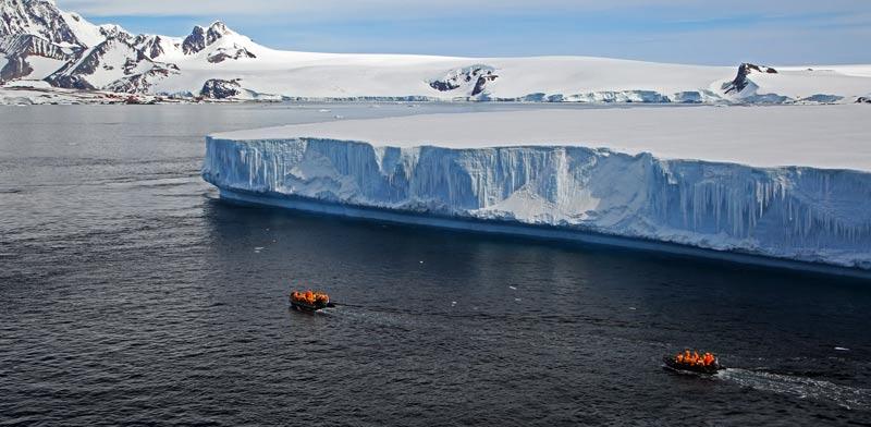 קרחון, אנטרטיקה/ צילום: שאטרסטוק